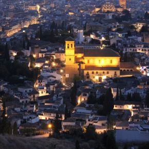 Granada from the top image